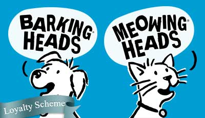 barking heads dog and cat foods stockists