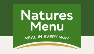 natures menu raw dog food
