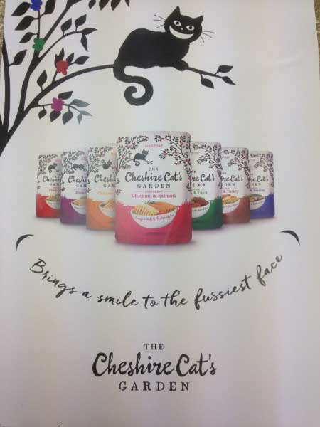 cheshire cat's garden cat food