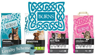 burns wet and dry pet foods for dogs and cats